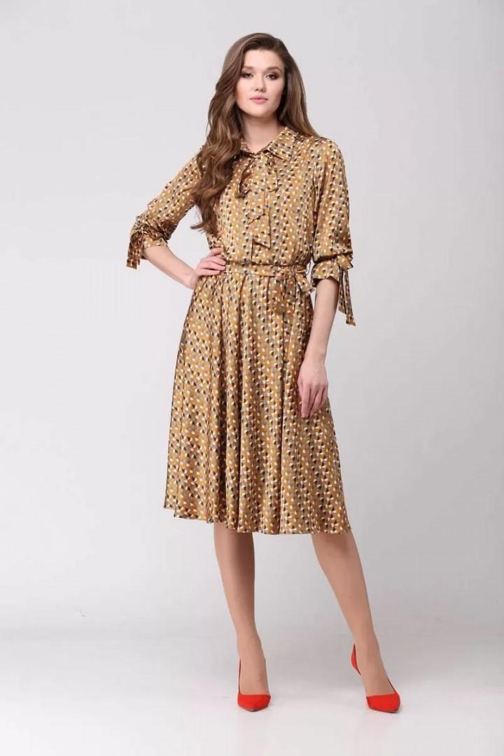 Платье Верита 2014 желтый