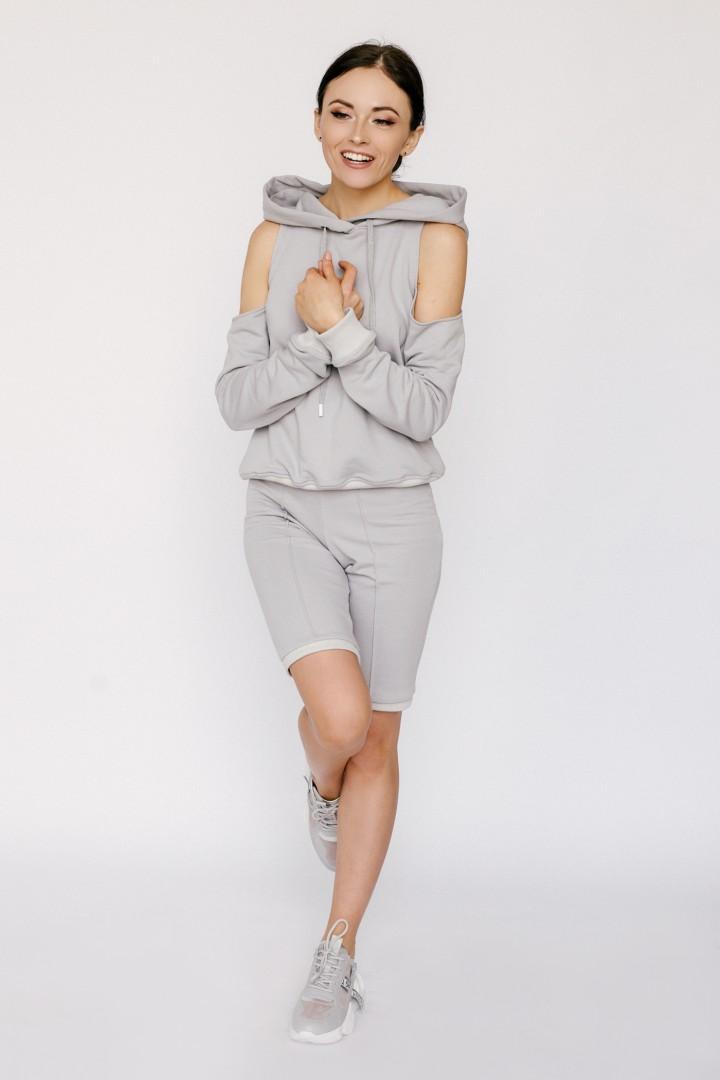 Шорты Viola Style 100003 светло-серый