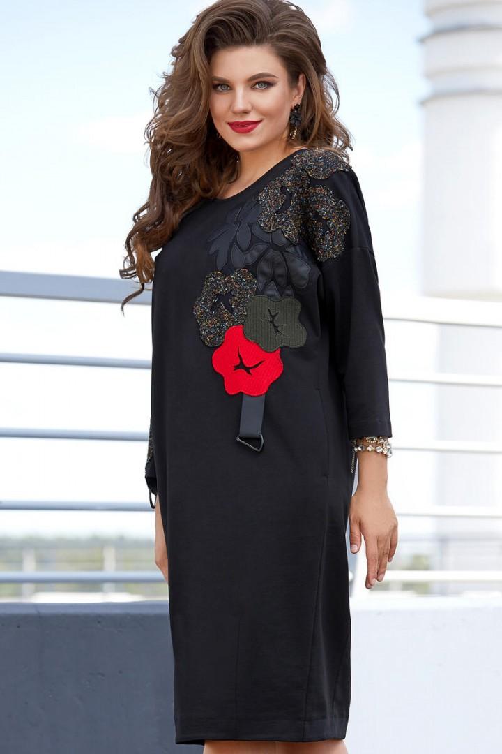 Платье Vittoria Queen 14063 черный