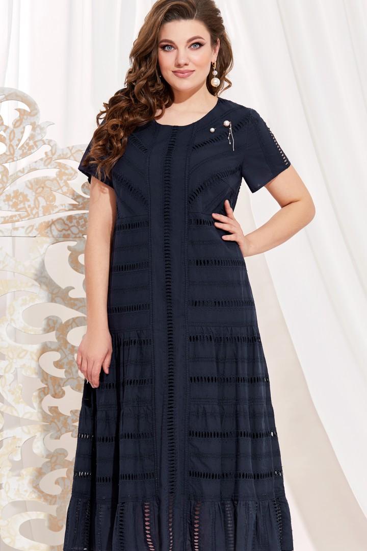 Платье Vittoria Queen 14083/1 т.синий