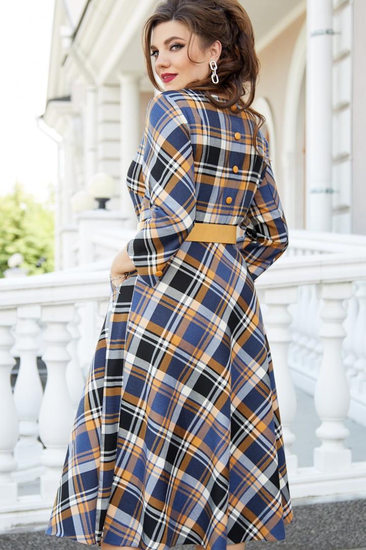 Платье Vittoria Queen 14253 диз.клетка