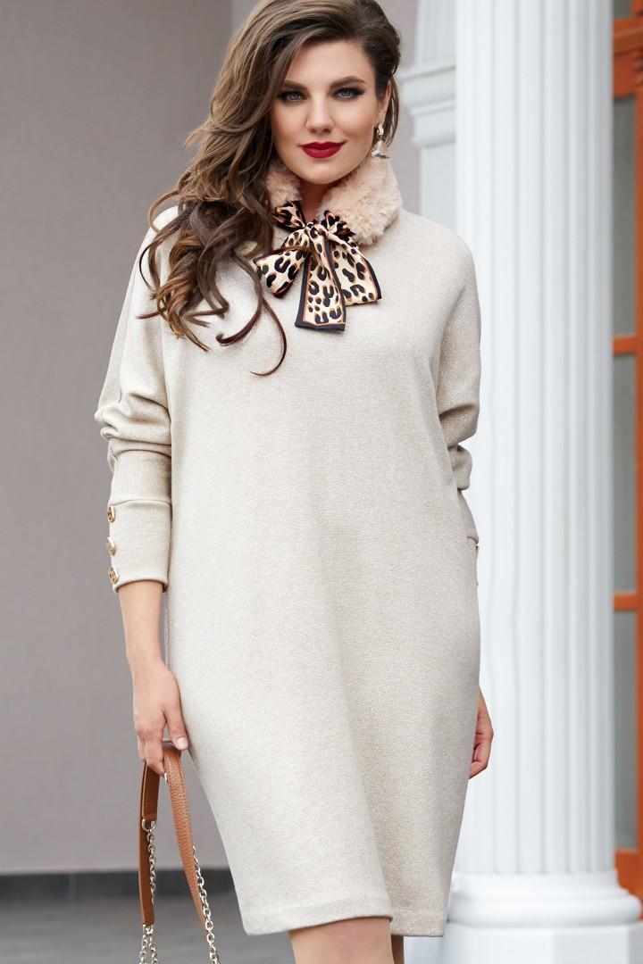 Платье Vittoria Queen 14803 беж