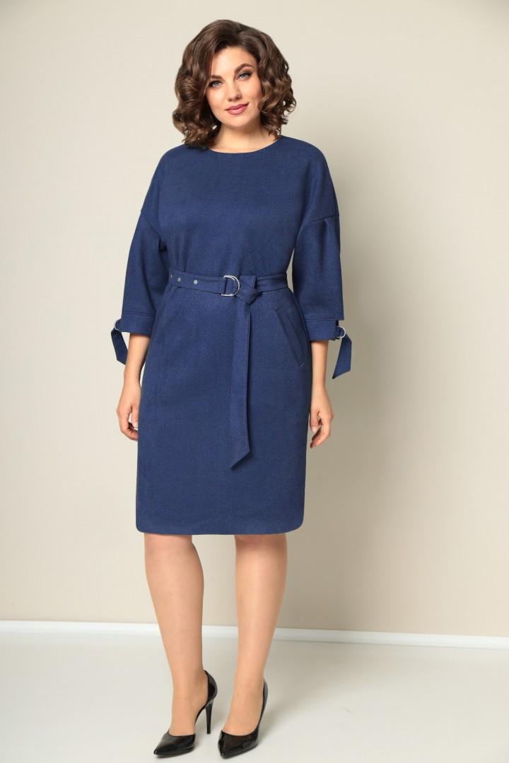 Платье VOLNA 1215 синий